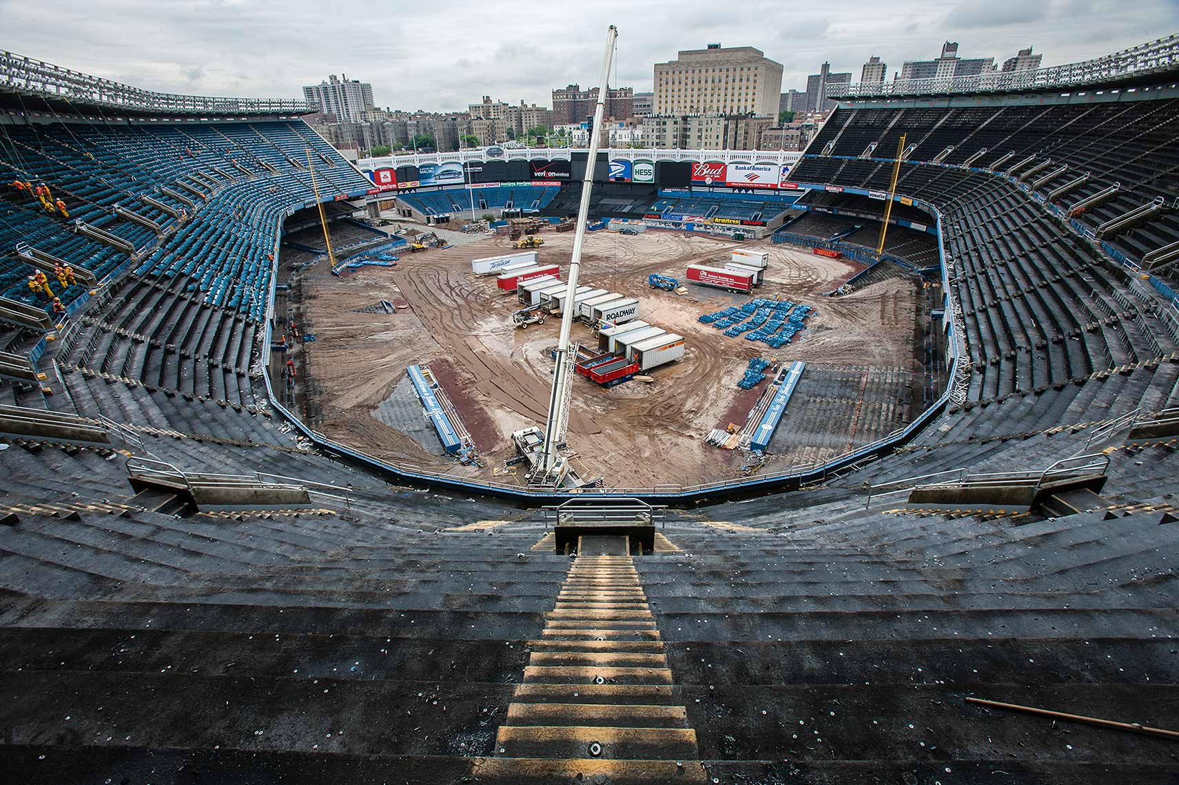 Demolition of Yankee Stadium